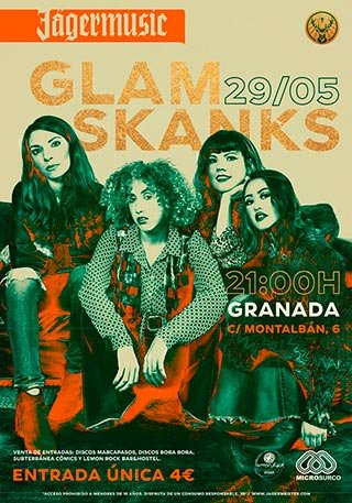 Glam Skanks - Lemon Rock - 29 mayo 2019