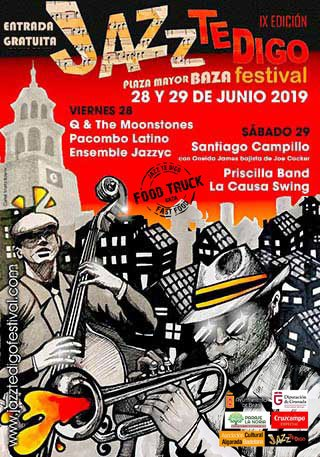 Jazz te Digo 2019 - Plaza Mayor Baza - Entrada libre
