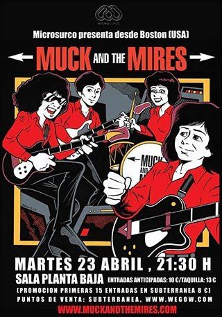 Muck & The Mires -  Planta Baja - 23 Abril 2019