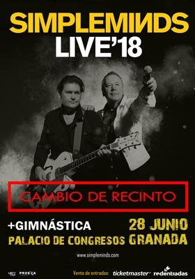 Simple Minds en Granada - Plaza de Toros - 28 de junio de 2018