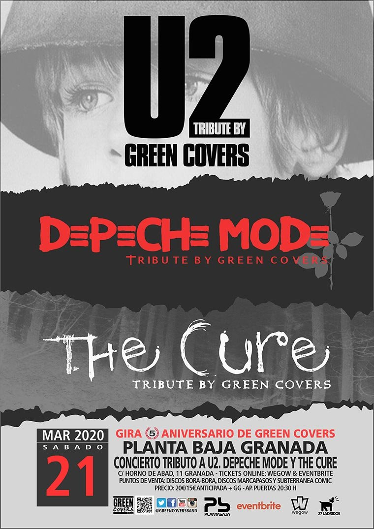 Green Covers. Tributo a U2, Depeche Mode y The Cure
